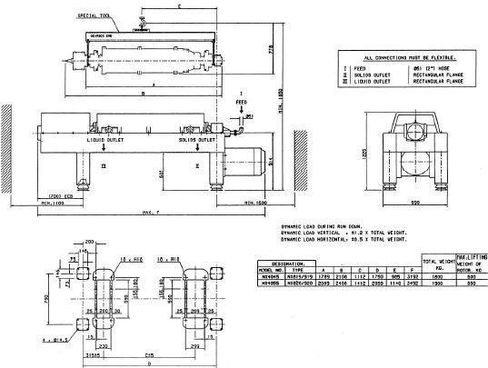 Used- Stainless Steel Alfa Laval Decanter, Model AVNX-4055