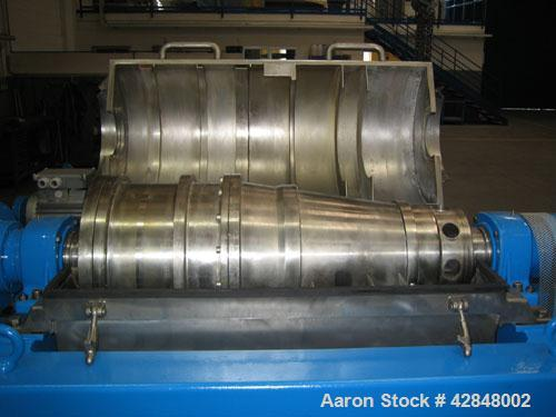 Used- Stainless Steel Alfa Laval Solid Bowl Decanter Centrifuge, AVNX-414B-11