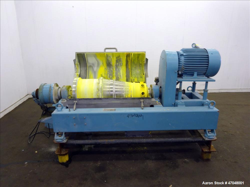 Used- Alfa Laval Solid Bowl Decanter Centrifuge Model AVNX-414B-31.
