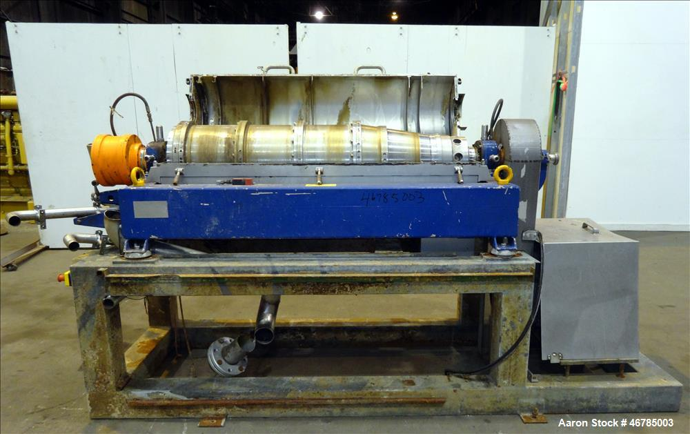 Used- Alfa Laval AVNX-418B-11G (three-phase) Solid Bowl Decanter Centrifuge