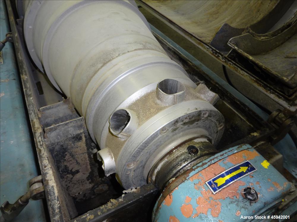 Used- Alfa Laval AVNX-418B-31G Solid Bowl Decanter Centrifuge,