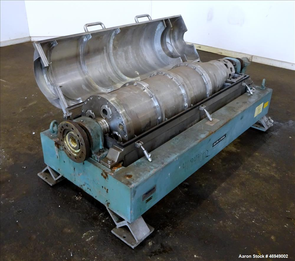Used- Alfa Laval AVNX-418B-31 Solid Bowl Decanter Centrifuge