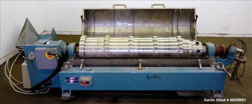 USED: Alfa Laval AVNX-420B-31G Solid Bowl Decanter Centrifuge