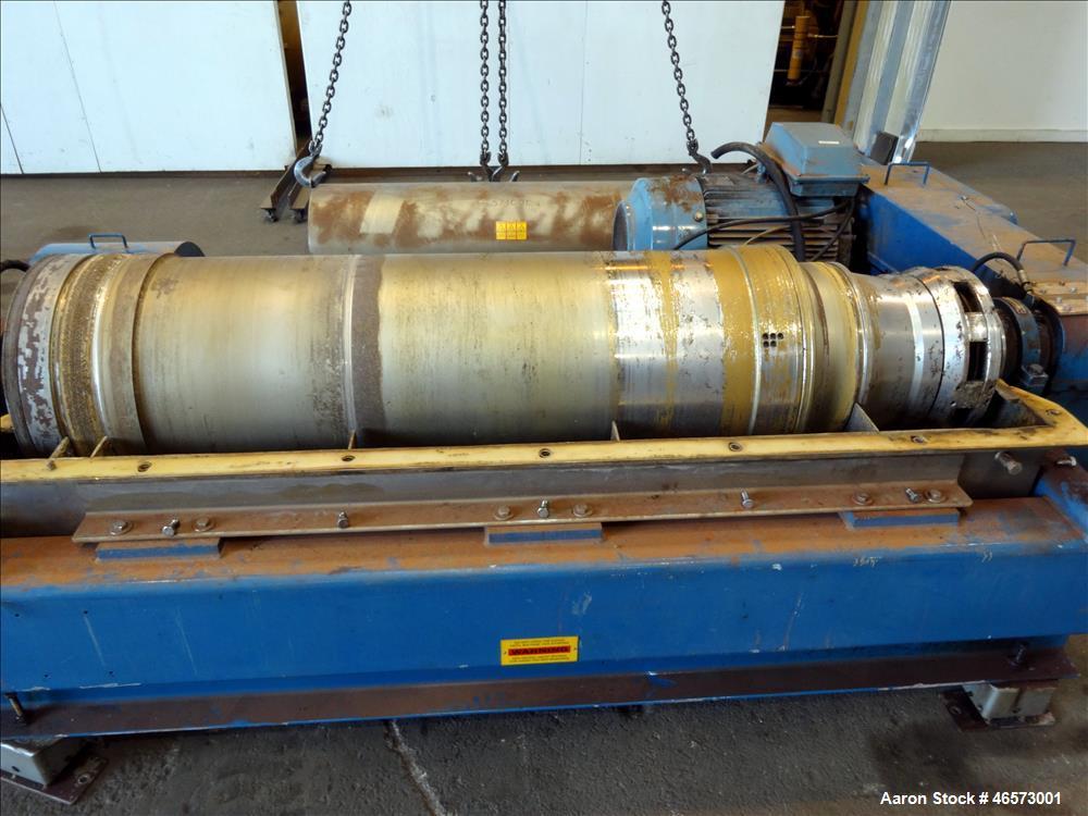 Used- Alfa Laval AVNX-426B-31G Solid Bowl Decanter Centrifuge