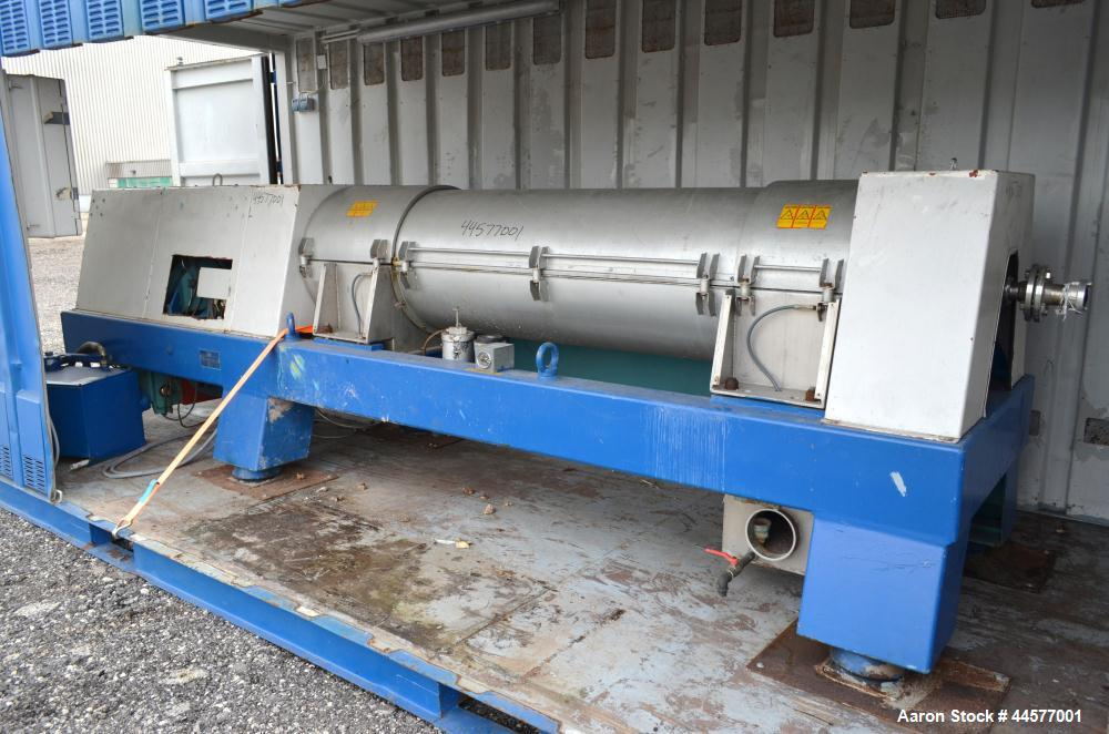 Used- Stainless Steel Alfa Laval Decanter Centrifuge, AVNX-5050B-31G