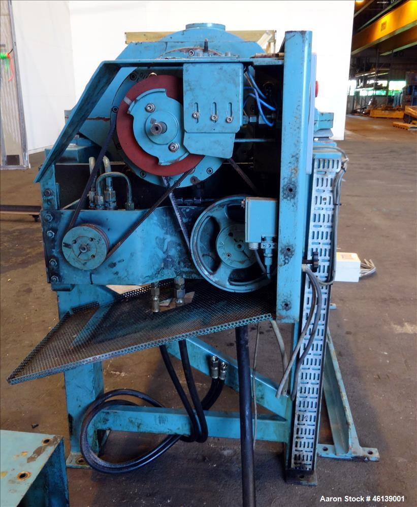 Used- Alfa Laval AVNX-714B-31G Solid Bowl Decanter Centrifuge. 316 Stainless steel (product contact areas), maximum bowl spe...