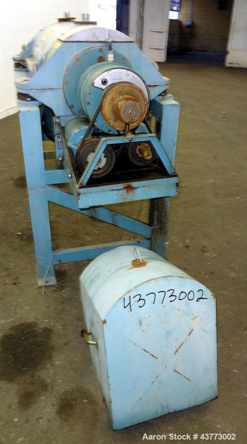 Used- Alfa Laval AVNX-716B-31G Solid Bowl Decanter Centrifuge. Stainless steel rotating assembly, bowl speed 4000 rpm, singl...