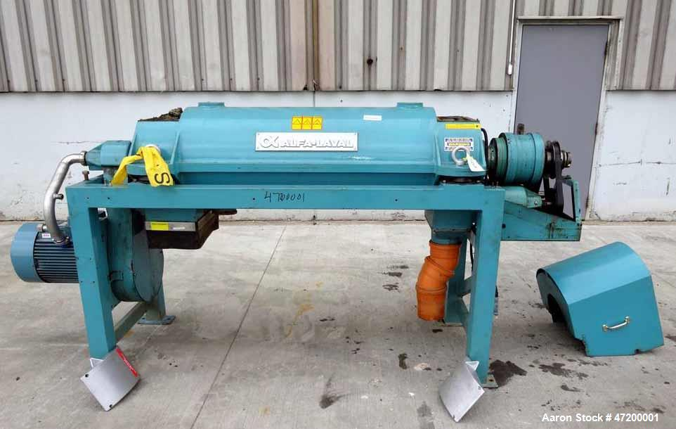 Used- Alfa Laval AVNX-720B-31G Solid Bowl Decanter Centrifuge.