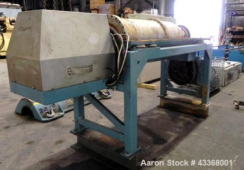 Used- Alfa Laval AVNX-730B-31G Solid Bowl Decanter Centrifuge, 316 stainless steel construction (product contact areas), max...