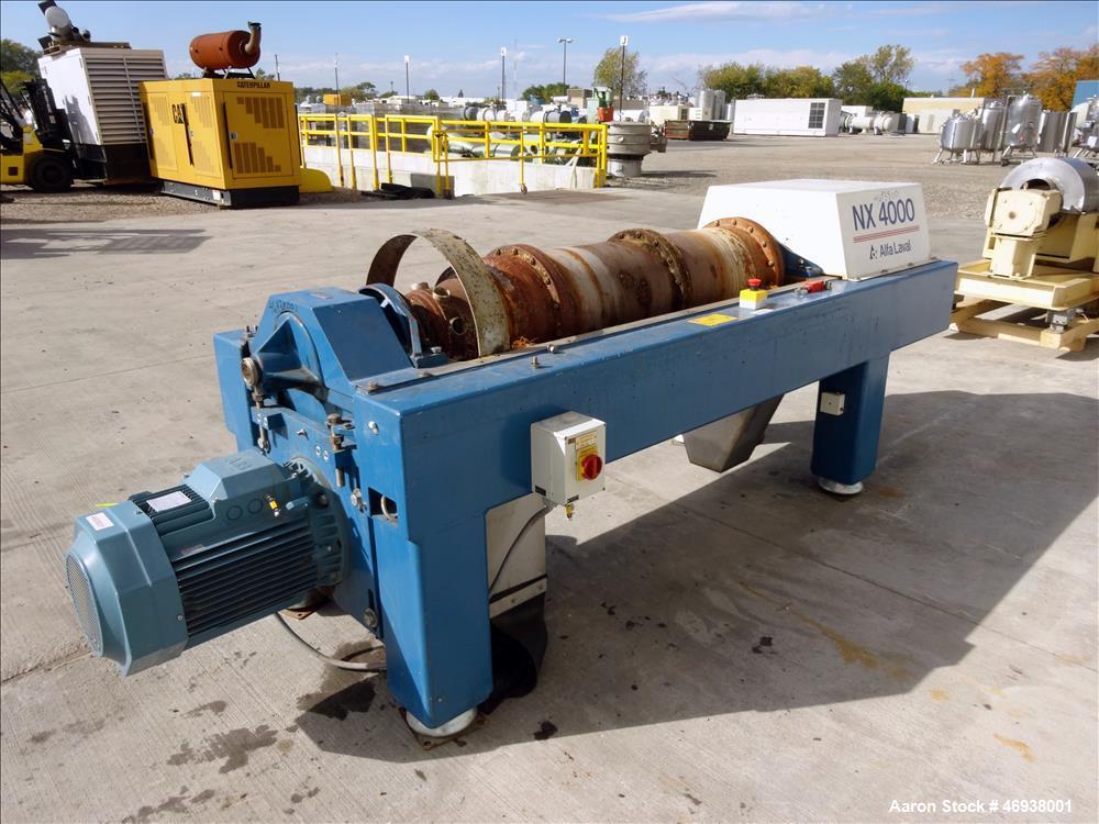 Used- Alfa Laval AVNX-820B-31G Solid Bowl Decanter Centrifuge.