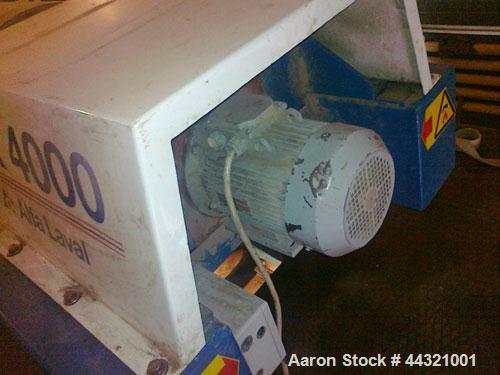 Used-Alfa Laval Decnter Centrifuge AVNX 4500 Stainless Steel