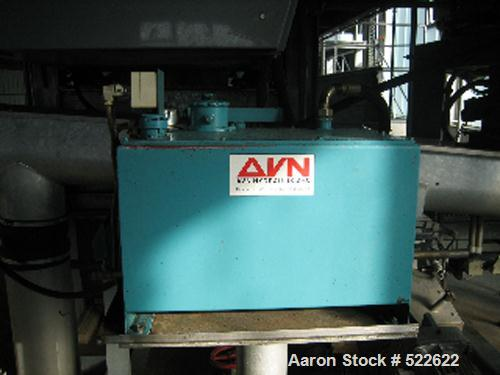 USED: Alfa Laval decanter, type AVNX5050B-31G. 316 stainless steelconstruction on product contact parts. Bowl speed 1800-275...