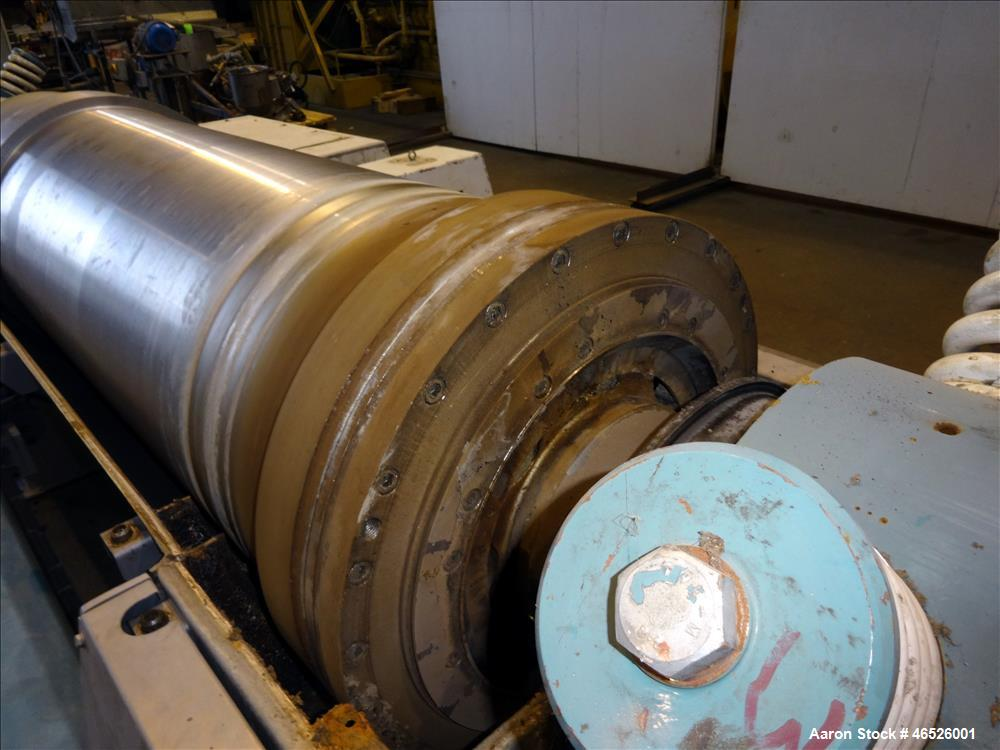 Used- Alfa Laval AVNX-5060B-31G Solid Bowl Decanter Centrifuge, 316 Stainless Steel construction (product contact areas), ma...