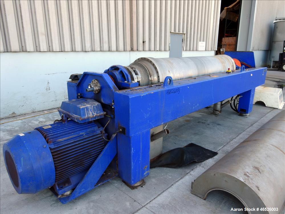 Used: Alfa Laval Delta-690 Solid Bowl Decanter Centrifuge