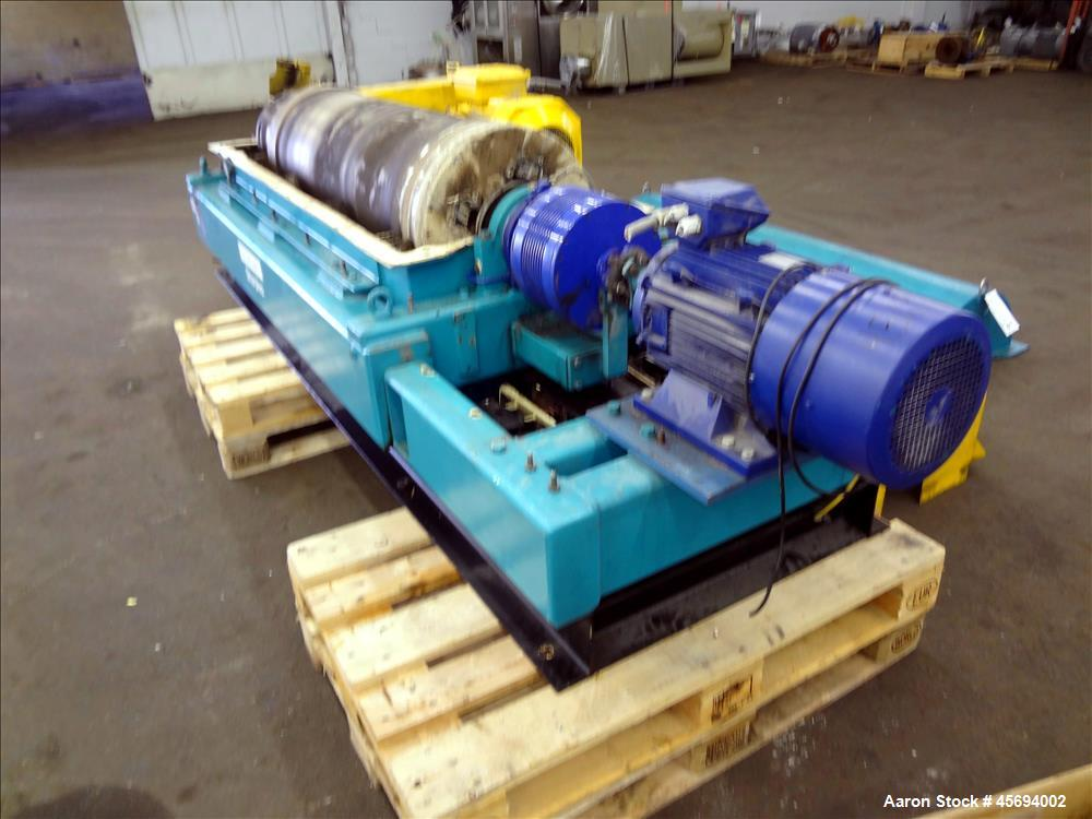 Used- Alfa Laval/Sharples DSNX 4250 (PM36000) Super-D-Canter Centrifuge (dry solids design). 316 Stainless steel constructio...