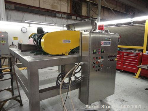 Used- Alfa Laval MRNX-418 Sanitary (2 or 3-Phase) Solid Bowl Decanter Centrifuge. 316 Stainless steel construction (product ...