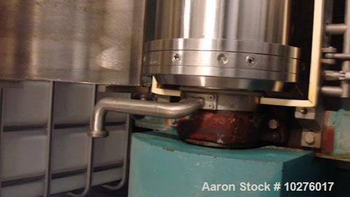 Used-Alfa Laval NX-418S-31G (2 or 3 phase) Solid Bowl Decanter Centrifuge. 316 stainless steel construction on product conta...