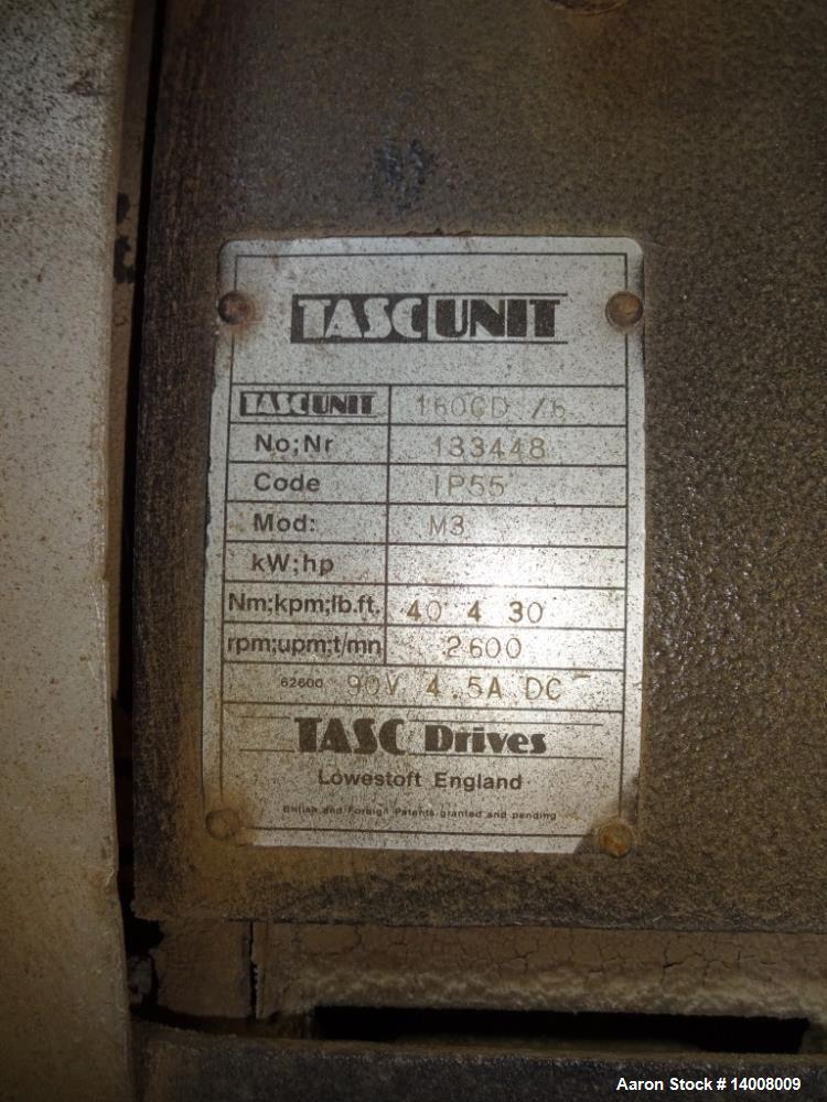 "Used- Alfa Laval NX-420 Solid Bowl Decanter Centrifuge. 316 Stainless steel on product contact parts. 3-1/2"" pitch. Maximum ..."