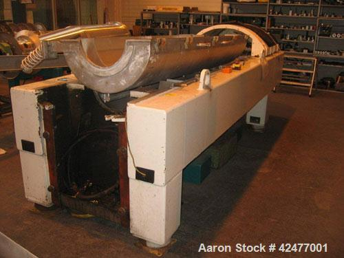 Used-Alfa Laval NX-438S-31G Solid Bowl Decanter Centrifuge. 316 Stainless steel constructiion (product contact areas), maxim...