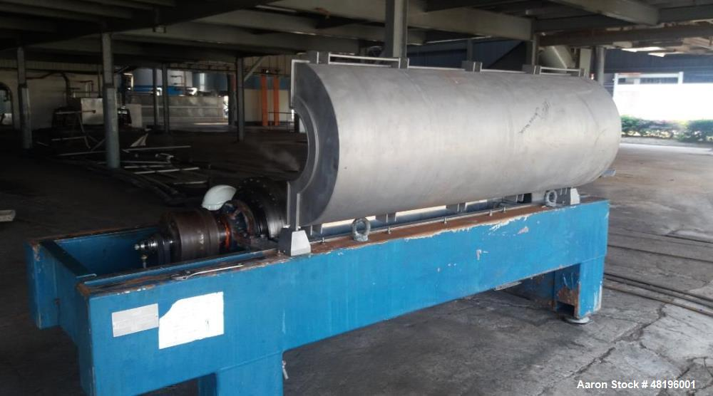 Used- Alfa Laval PANX-934 Tricanter Solid Bowl Centrifuge,