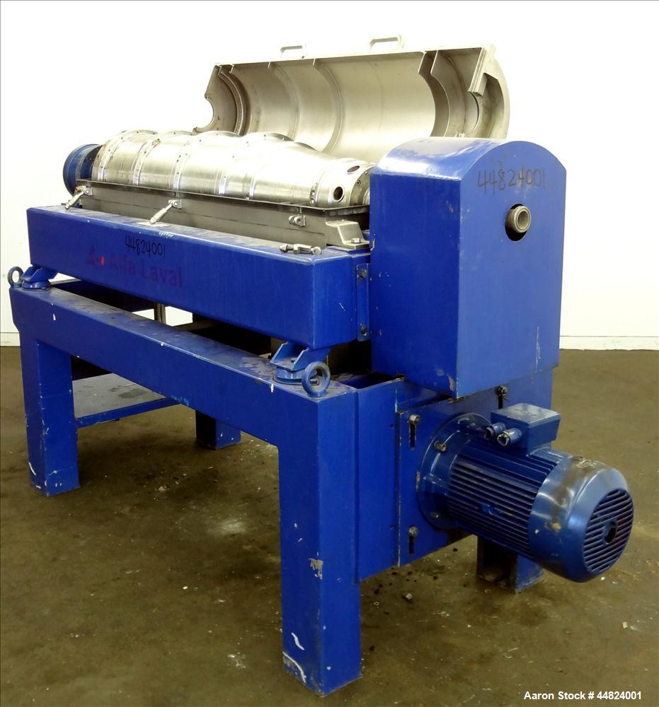 Used- Stainless Steel Alfa Laval Decanter Centrifuge