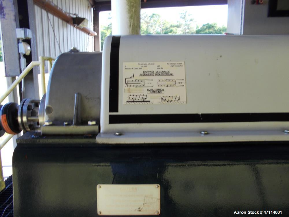 Used- Andritz D4LC30CHP Solid Bowl Decanter Centrifuge.