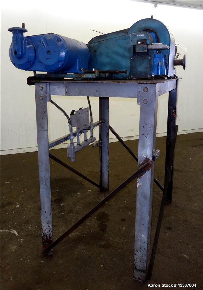 Used-Bird Solid Bowl Decanter Centrifuge, 0100