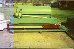 """USED: Bird 24"""" x 60"""" solid bowl decanter centrifuge, carbon steel construction, CCF design, 8"""" single lead conveyor with har..."""