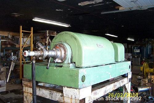 Used- Bird/Flottweg Solid Bowl Decanter Centrifuge, Model 2550