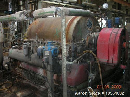"Used-Bird/Broadbent 40"" x 60"" solid bowl decanter centrifuge. Stainless steel construction, hardfaced conveyor, stainless st..."
