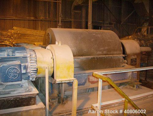 "Used-Bird 40"" x 60"" Solid Bowl Decanter Centrifuge. 316L/Inconel 600 construction (product contact areas), max bowl speed 14..."