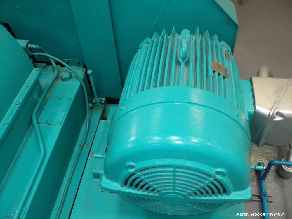 Used-Bird Solid Bowl Decanter Centrifuge, HB-3700