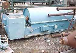 Used- Carbon Steel Bird Solid Bowl Decanter Centrifuge
