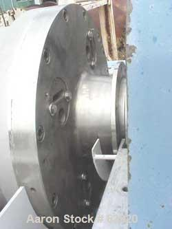 Used- Stainless Steel Bird Screen Bowl Decanter Centrifuge