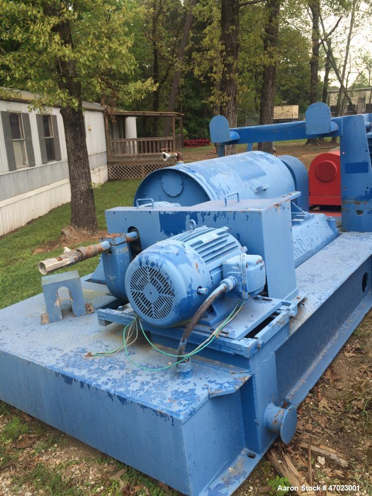 "Used- Bird 24:  x 38"" Solid Bowl Decanter Centrifuge"