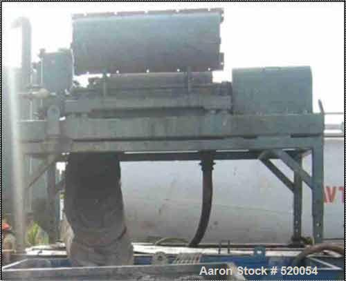 "USED: Brandt Bird centrifuge 14"" x 48"", 3250 rpm, G force 2118, 460V or 380V 50 Hz (two motors included), housing EXP, plane..."