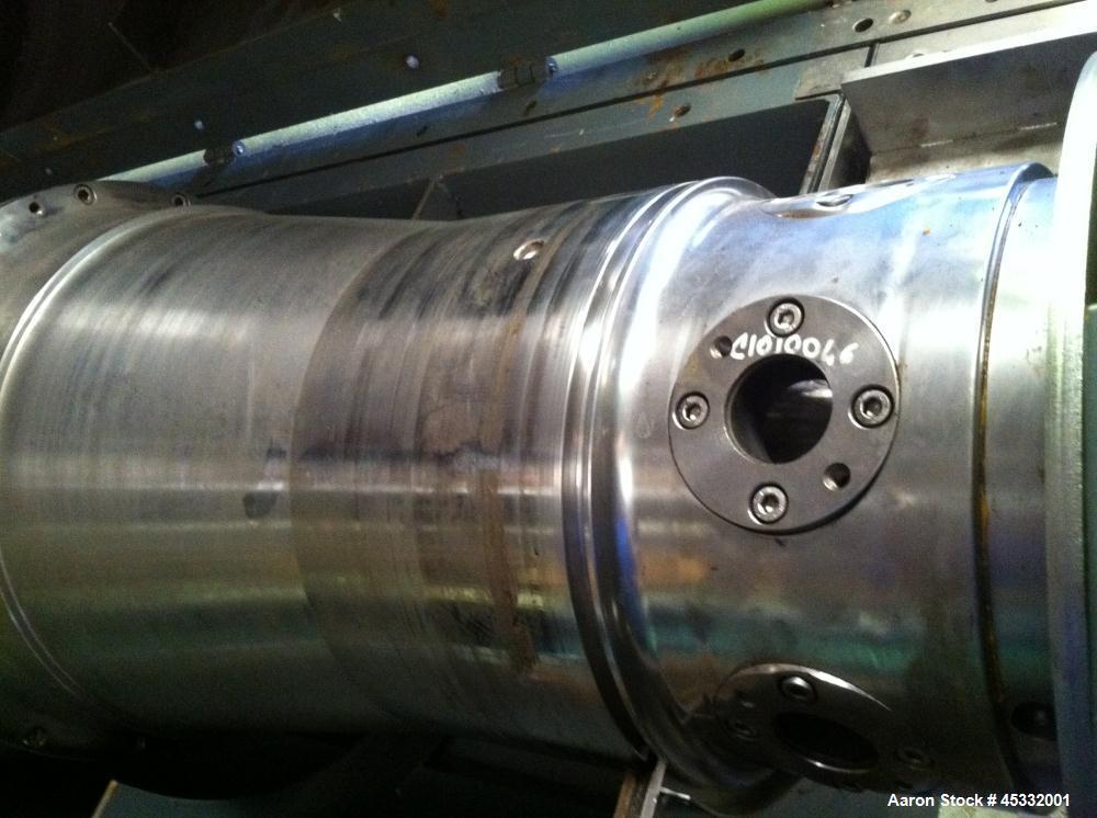Used- Stainless Steel CBB Decanter Centrifuge, Model CD 40 I