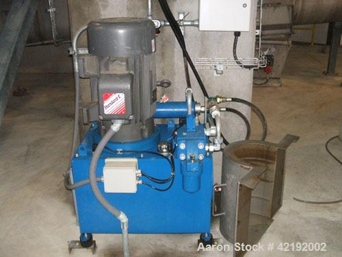 Used-Centrisys CS21-4 Solid Bowl Decanter Centrifuge. Stainless steel construction (product contact areas), max bowl speed 3...