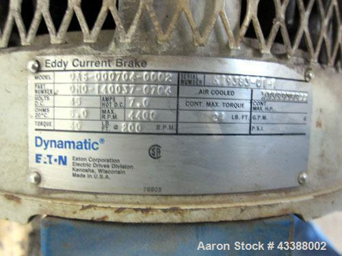 Used- Stainless Steel Dorr Oliver Merco Solid Bowl Decanter Centrifuge
