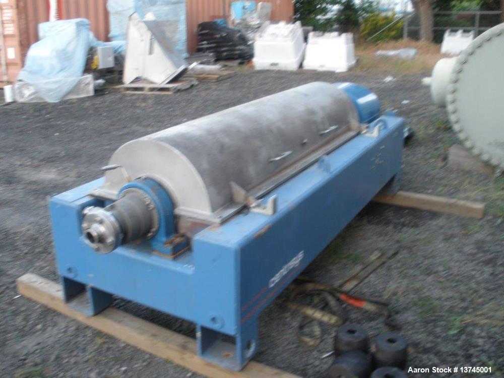 Used- Flottweg K4D-4444 SortiCanter Centrifuge.