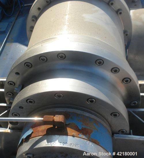 Used- Flottweg Z-23-3/441 Tricanter Solid Bowl Centrifuge. 329 Stainless steel construction (product contact areas), maximum...