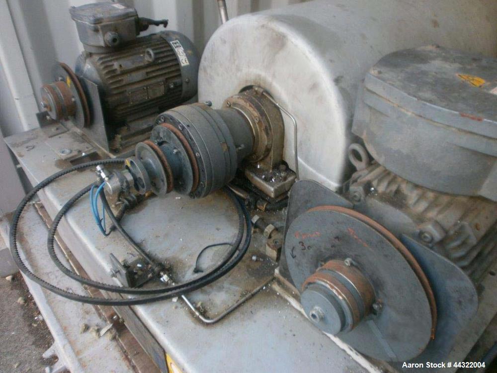 Used- Flottweg Z-23-4/401 Solid Bowl Centrifuge