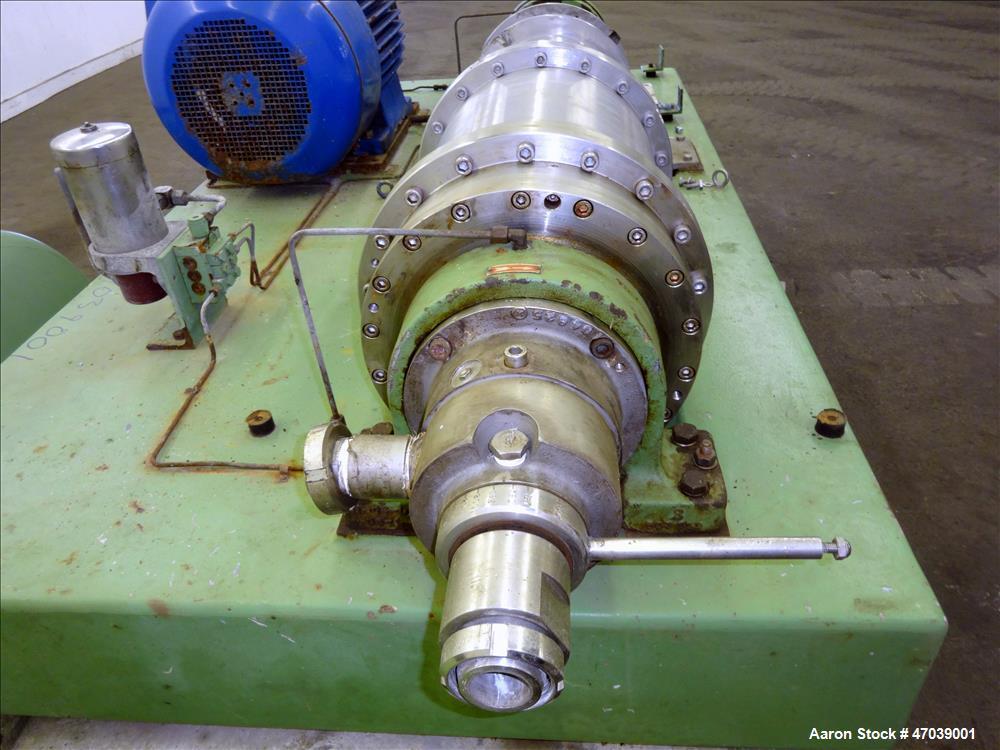 Used- Flottweg Z32/4-401 Solid Bowl Decanter Centrifuge.