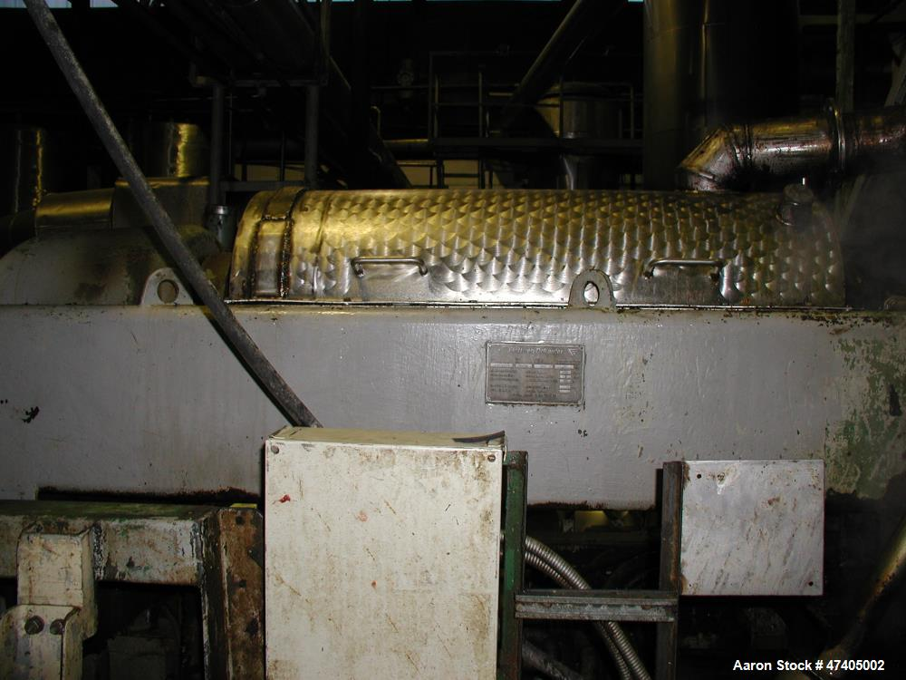 """Used- Flottweg Z4D/3-441 Solid Bowl """"Tricanter"""" Centrifuge. 316 Stainless steel construction (product contact areas), maximu..."""