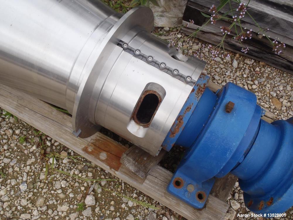 Used- Flottweg K4D-4 SortiCanter Centrifuge