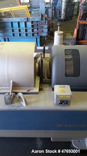 "Used- Flottweg Z4E/4-441 Solid Bowl ""Tricanter"" Centrifuge. 316 Stainless steel construction (product contact areas), SIMP-D..."