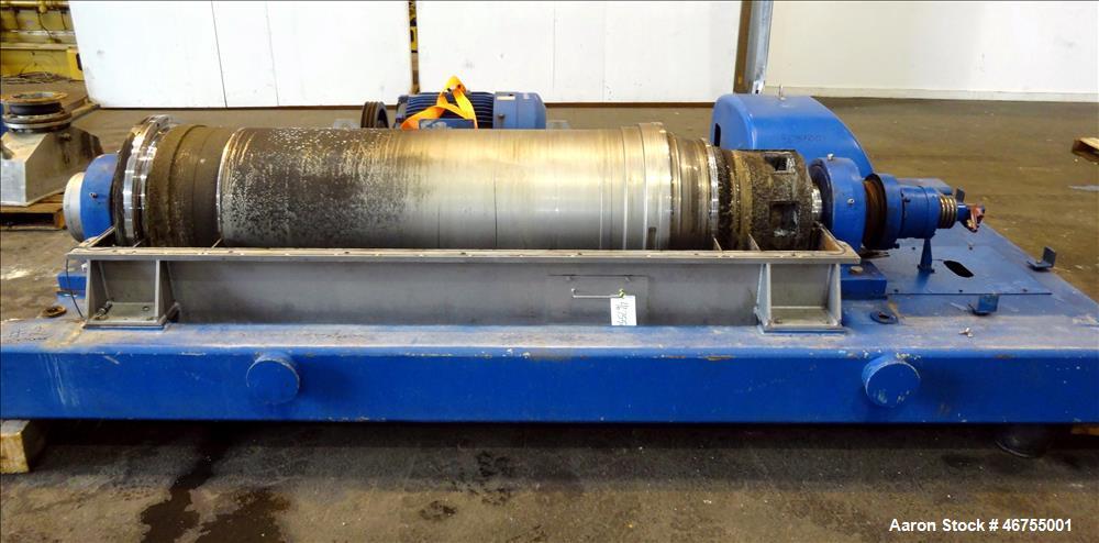 Used- Flottweg Z53/4-454 OSE Solid Bowl Decanter Centrifuge