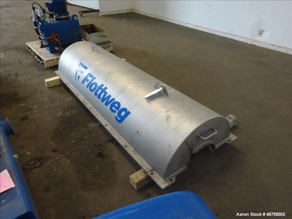 Used- Flottweg Z53/4-454 OSE Solid Bowl Decanter Centrifuge