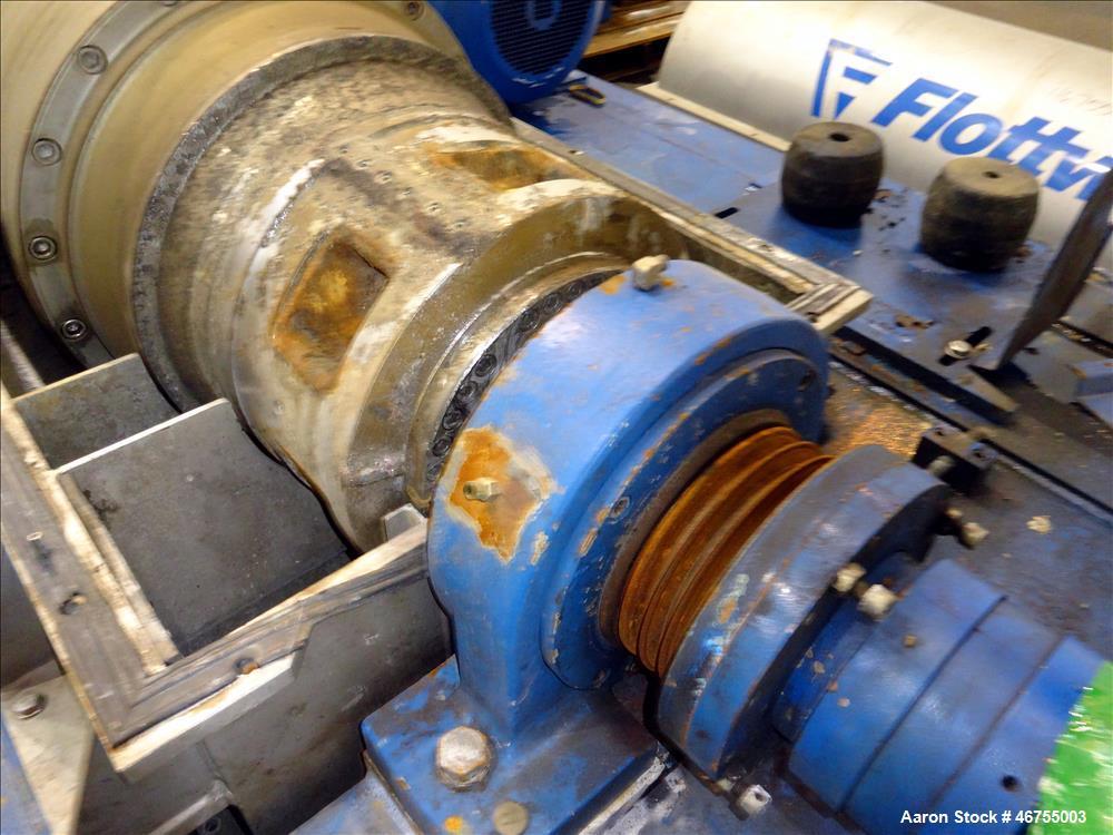 Used-Flottweg Z53/4-454 OSE Solid Bowl Decanter Centrifuge