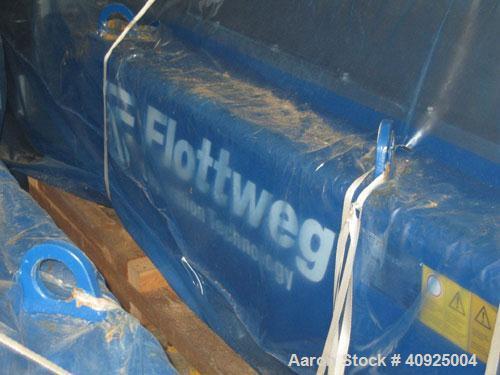 """Used-Unused-Flottweg Z6E-4/454 Solid Bowl """"Ethanol/Spent Grain"""" Decanter Centrifuge. 1.4463 stainless steel construction on ..."""